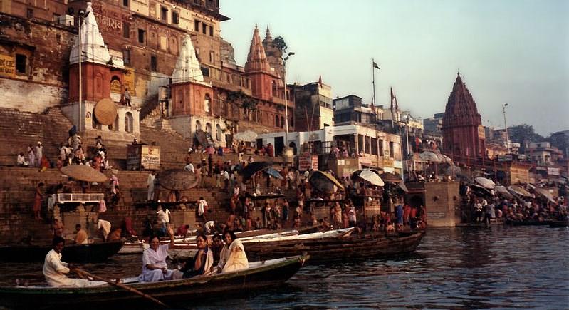The River Ganges at Dawn. Varanasi, India Book 2 Chapter 4: Leaving Calcutta
