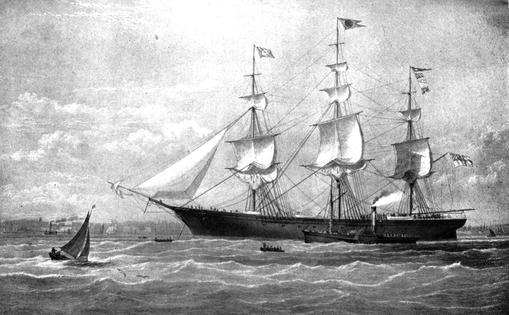 James Baines, 1854, clipper ship Book 3 Chapter 3: A romance on the high seas